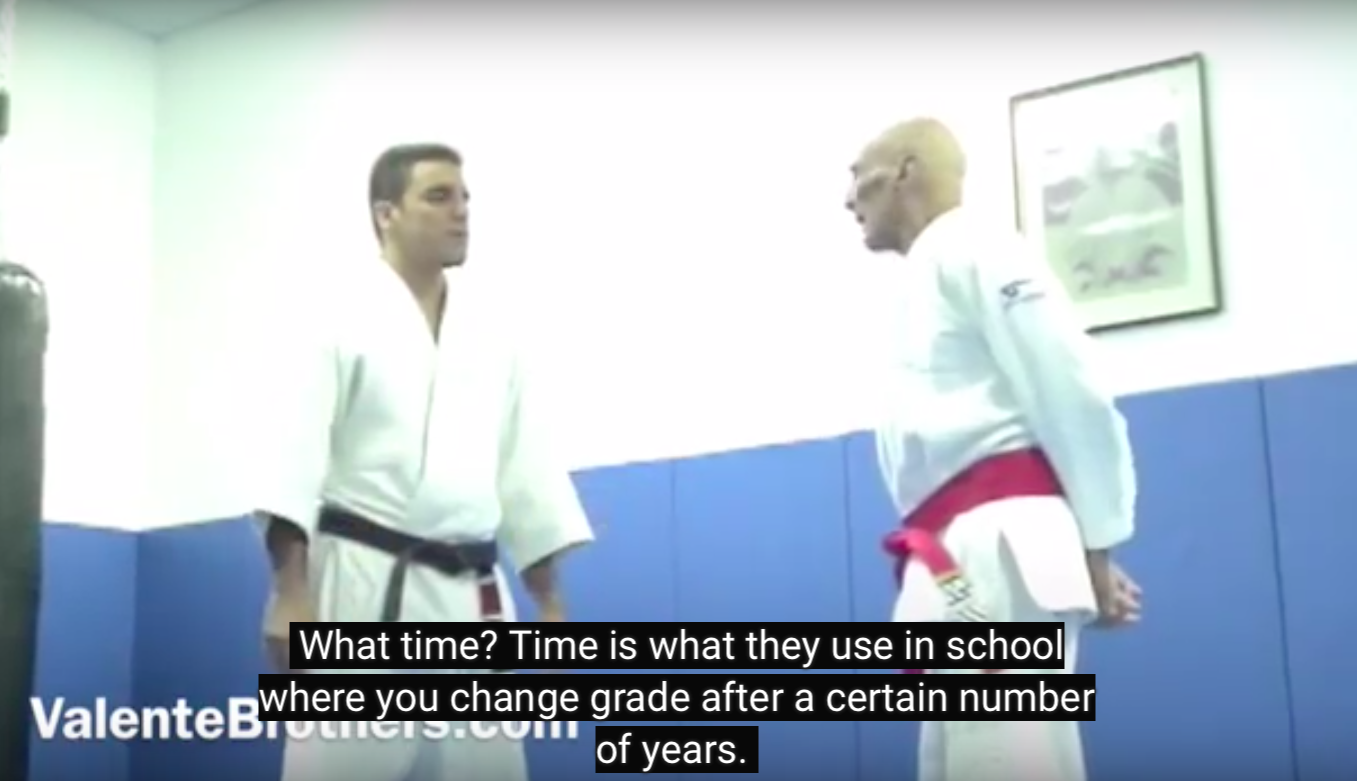 GM Helio Gracie on His Criteria for Degrees on the Black Belt