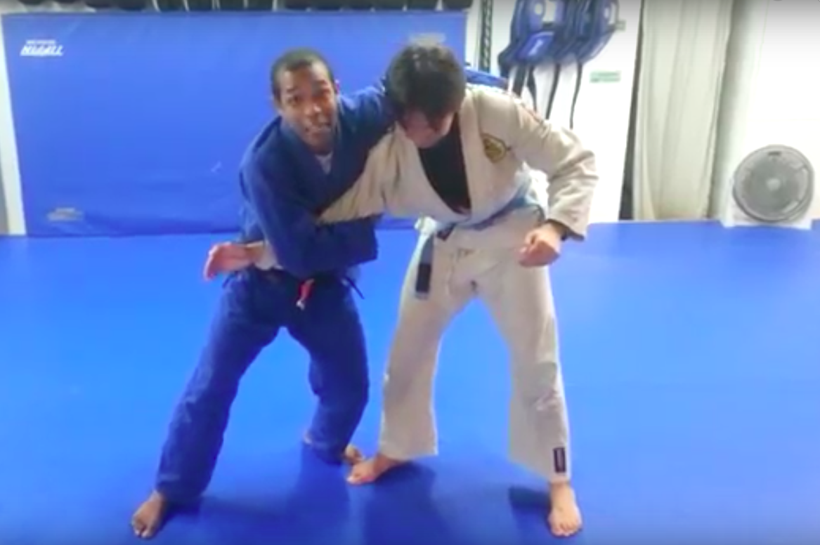 Hyperactive BJJ Instructor Shows an Awesome Takedown