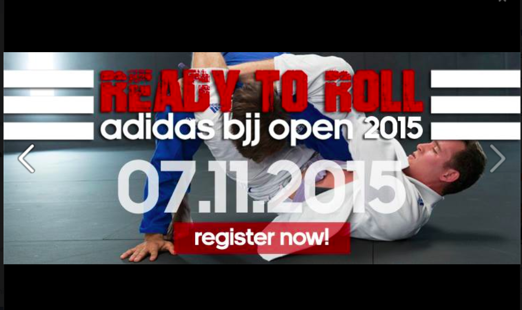 Adidas BJJ Open Gi & No Gi, Nov. 7th 2015