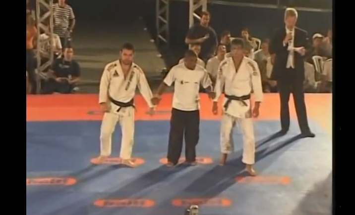Rare Footage: Marcelo Garcia vs Romulo Barral