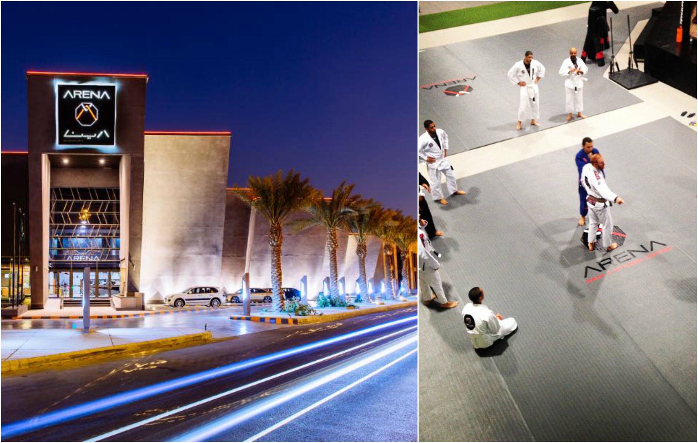 Saudi investors build the largest most luxurious mma gym
