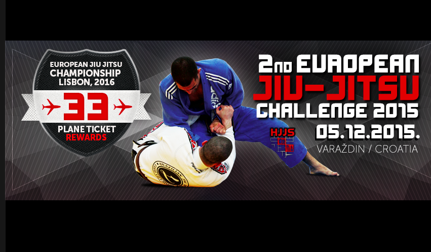 European BJJ Challenge, Croatia 5th Dec: 33 Plane Tickets For IBJJF Europeans