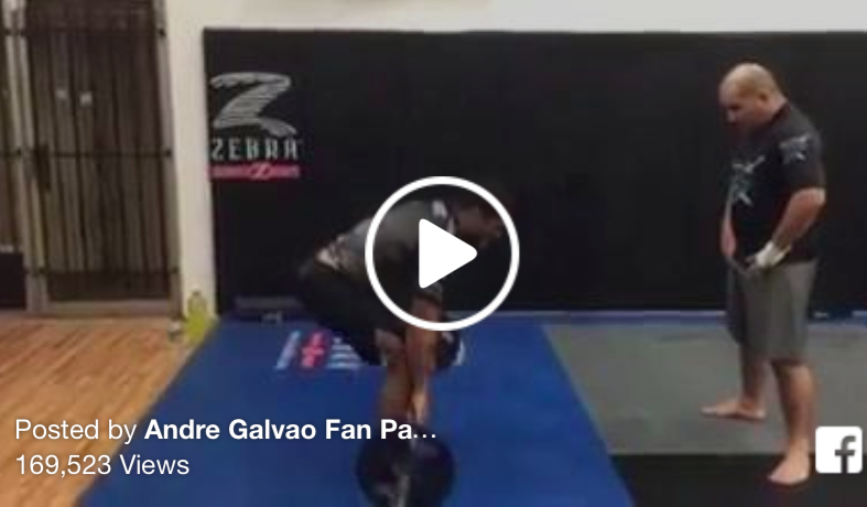 Andre Galvao's Pre-ADCC Circuit Training