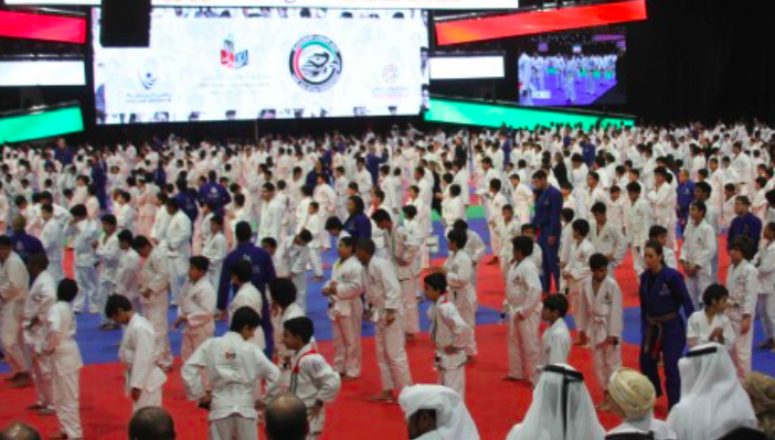 (Video) UAE breaks World Record For Largest Martial Arts Jiu Jitsu Class