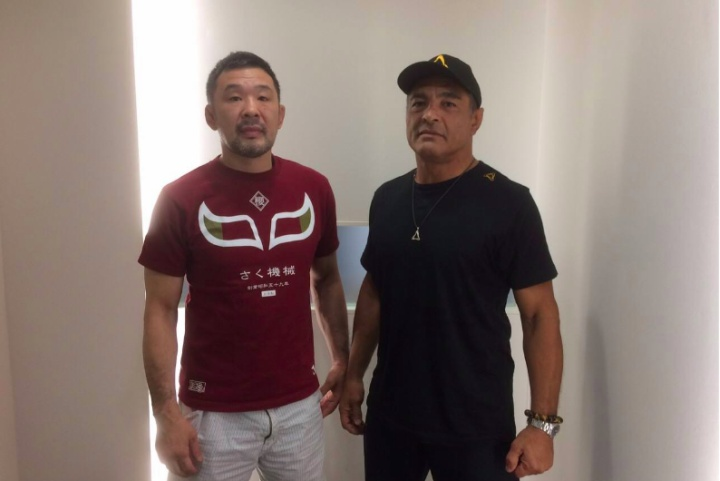 The Epic Moment Rickson Gracie Met Sakuraba & Why They Never Fought