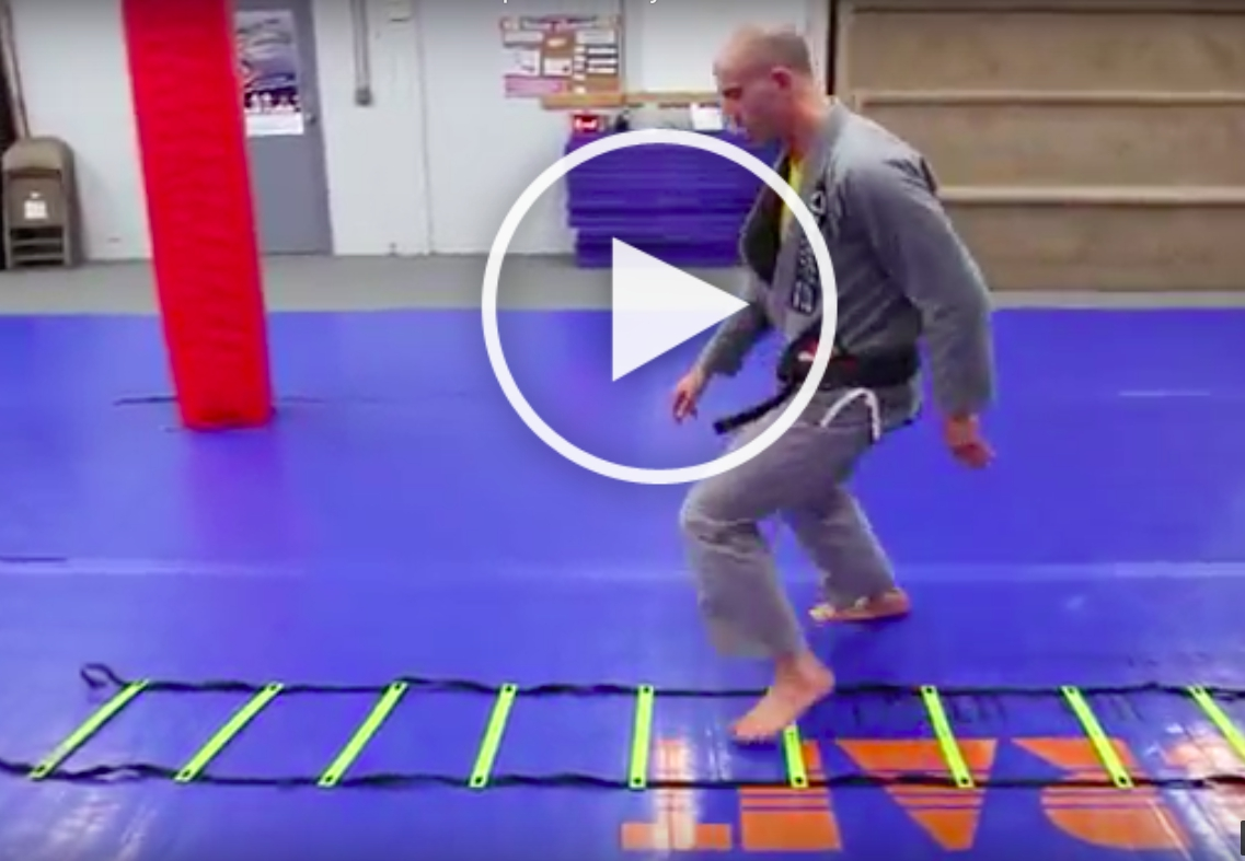 Agility Ladder Drills For Jiu-Jitsu