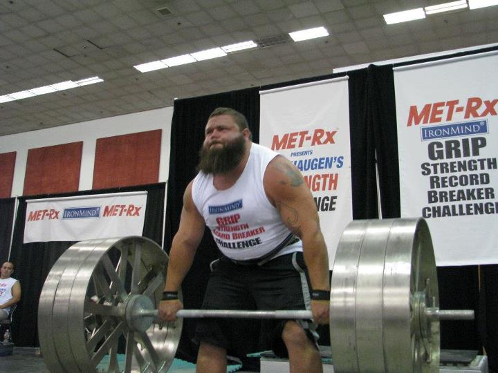 An Inside Look At The 20,000 Calorie/ Day Diet of a Strongman Champion