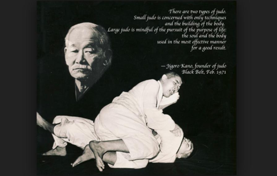 Why Judo Founder Jigoro Kano Didn't Favour Groundwork