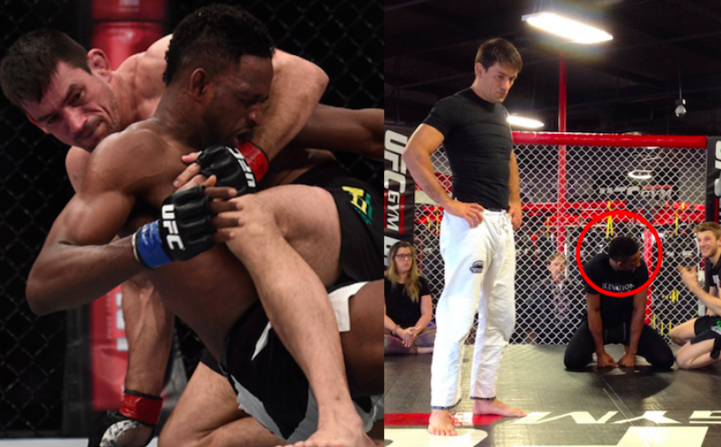 Humility: After Losing To Demian Maia, Neil Magny Attends His Seminar!