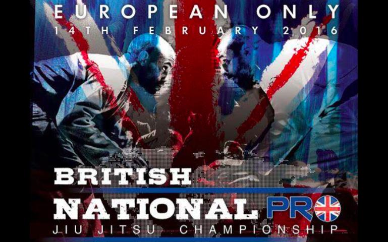 British National Pro on February 14, 2016