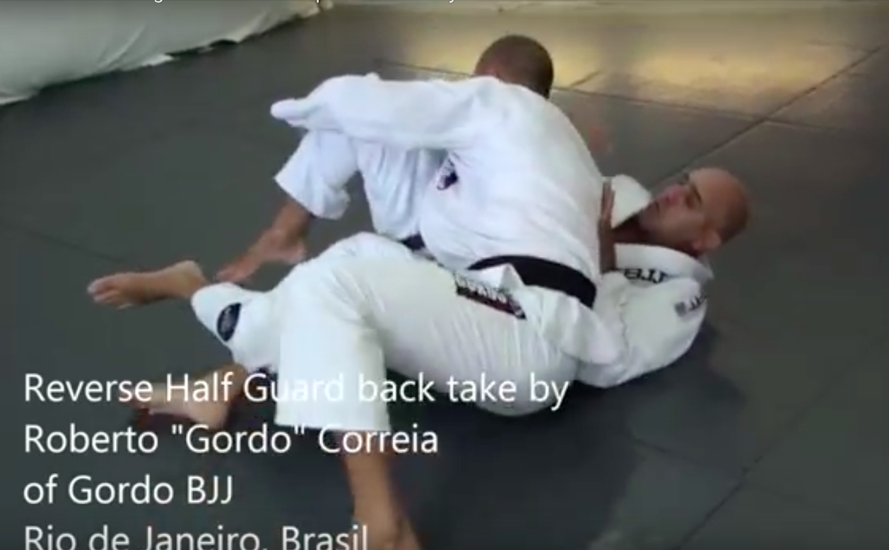 How to Defend Against the Backstep Guard Pass by Roberto 'Gordo 'Correa