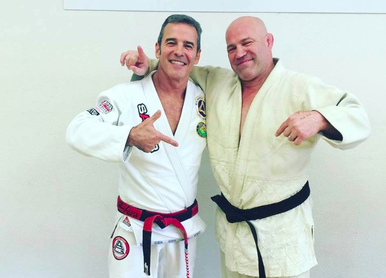 Wrestling Legend Mark Schultz Promoted to BJJ Black Belt by Pedro Sauer