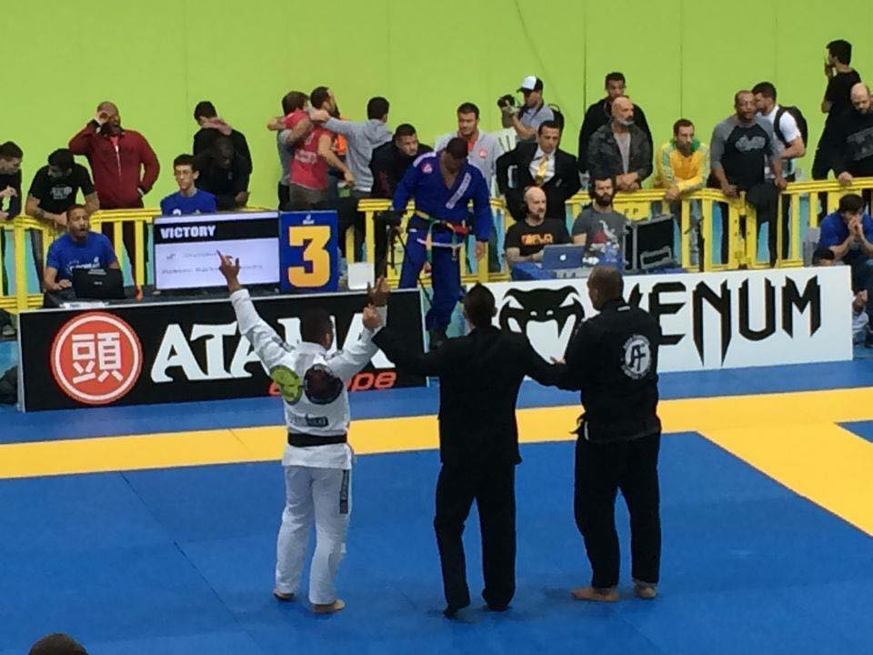 Europeans: Featherweight Takes 3rd Place in Black Belt Ultra Heavy (Adult)