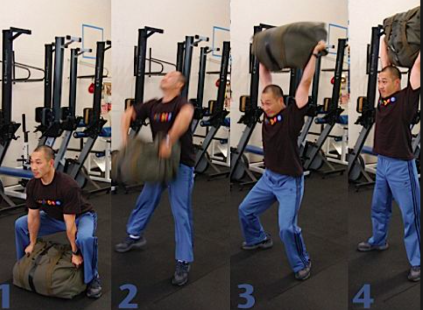 Ultimate Sandbag Conditioning Circuits for Grapplers