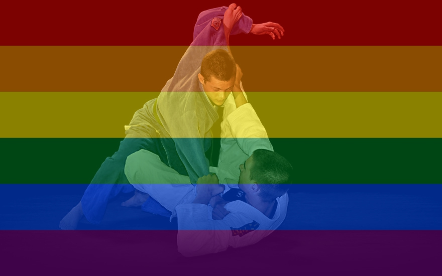 Is grappling gay