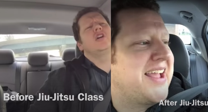 Standup Comedian Makes Hilarious Sketch on How Jiu-Jitsu Relieves Stress