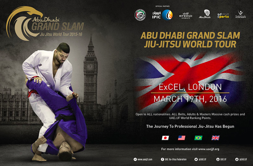 Abu Dhabi Grand Slam London to Deliver Biggest Cash Prizes in Europe
