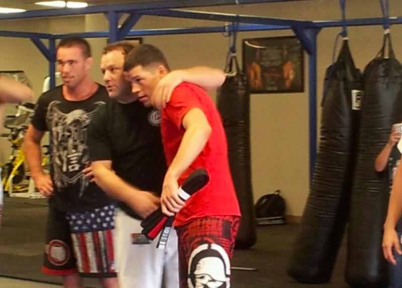 Flashback: Nate Diaz Receiving BJJ Black Belt After 12 Years of Training