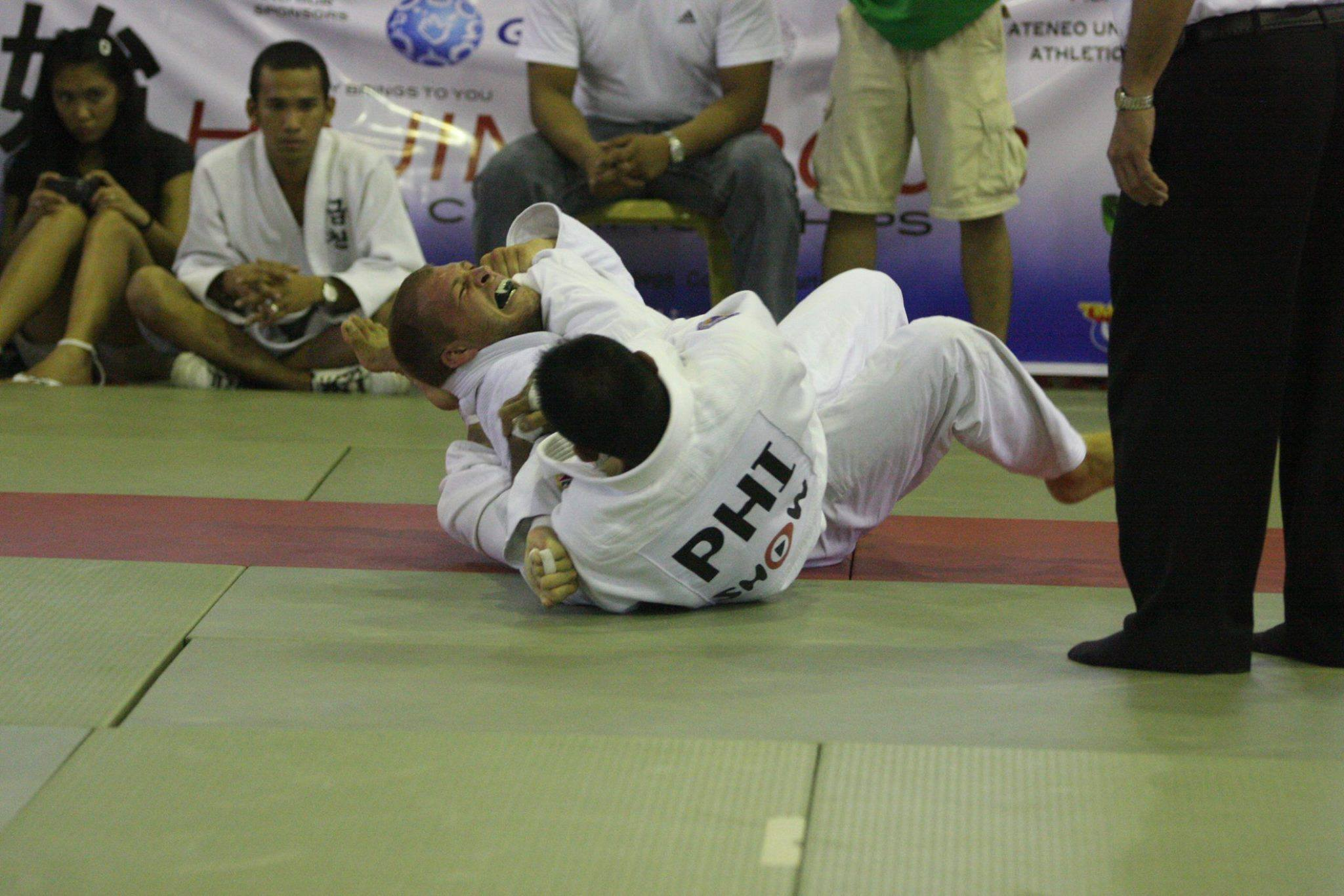 That Time Filipino Judoka John Baylon Submitted Mike Fowler in a Judo Tournament