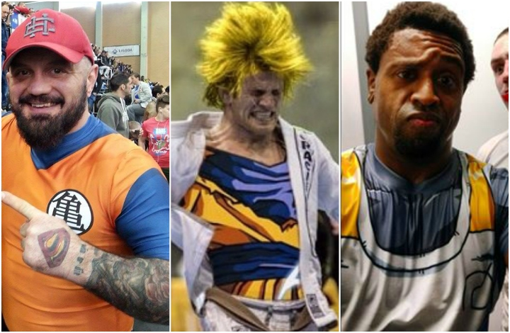 Identifying Dragon Ball Characters in Your BJJ Academy