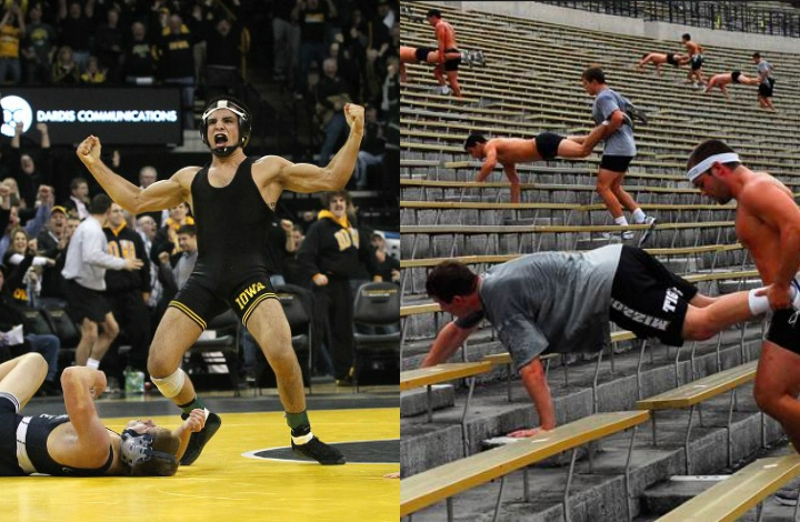 Inside look at High Level Wrestling Strength & Conditioning Program