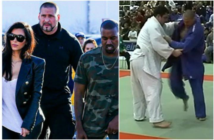 Austrian Judo Champion is Kanye West & Kim Kardashian's Bodyguard
