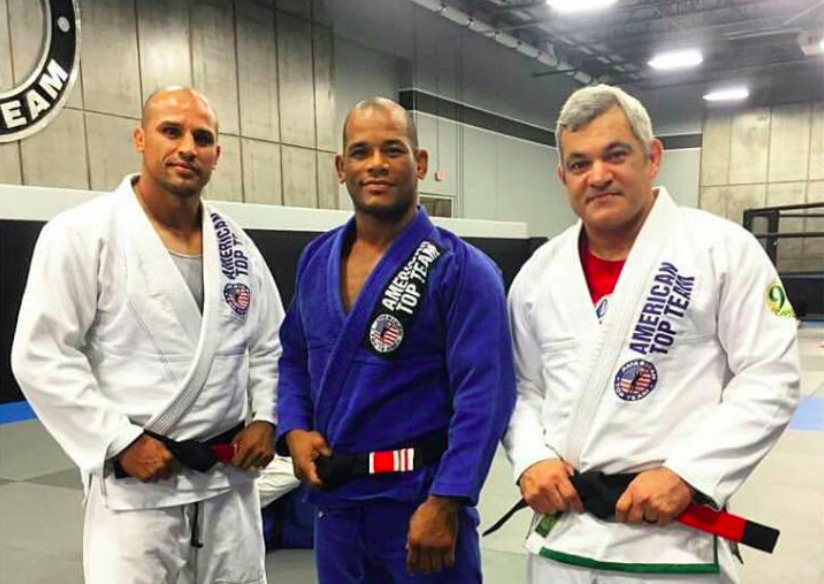 UFC's Hector Lombard Receives 2nd Degree on BJJ Black Belt from Liborio