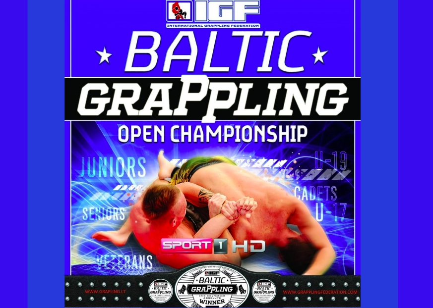 Baltic Grappling Open 21 May, Lithuania