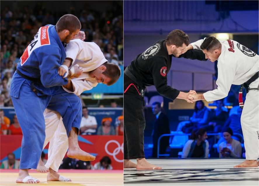 Understanding the Judo vs BJJ Mindset