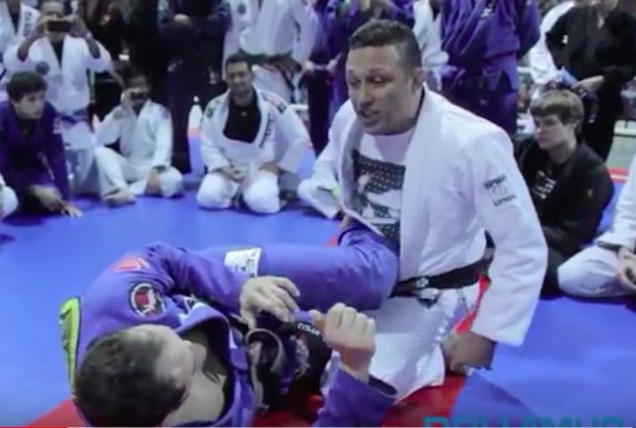Renzo Gracie's 100% Success Toe hold From Half guard