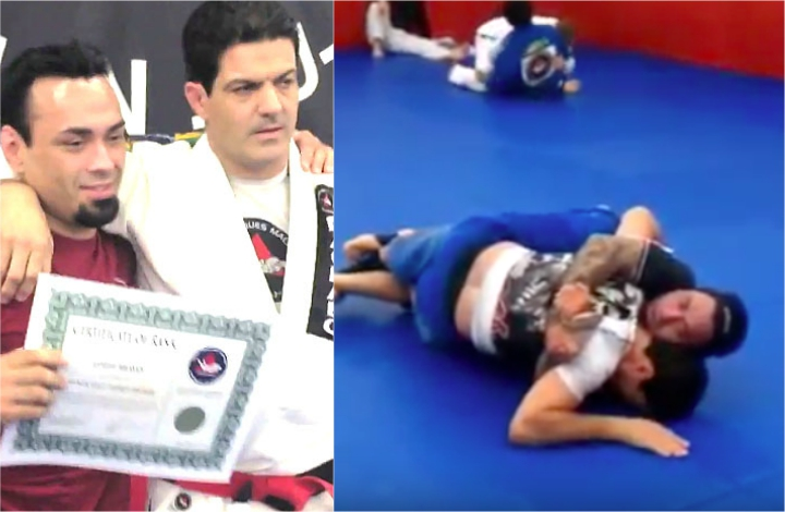 (Video) Eddie Bravo Rolling with His Instructor Jean Jacques Machado