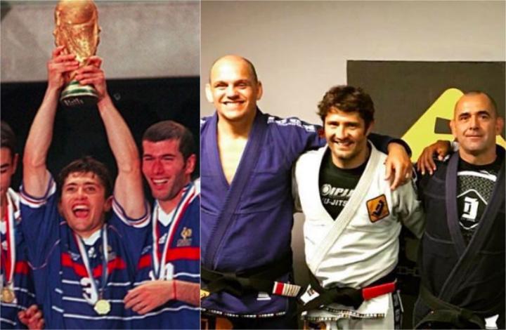 Bixente Lizarazu, Football World Cup Champion, is a BJJ Black Belt