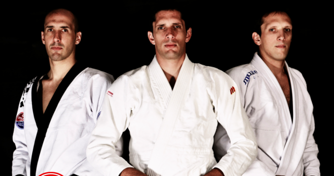 The Olivier brothers, all three are BJJ black belts