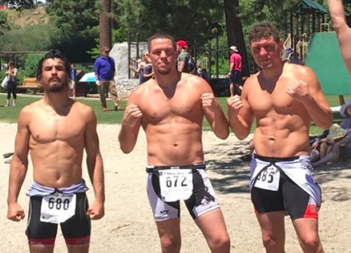 Kron Gracie & Diaz Bros Compete in Triathlon Before Upcoming MMA Fights