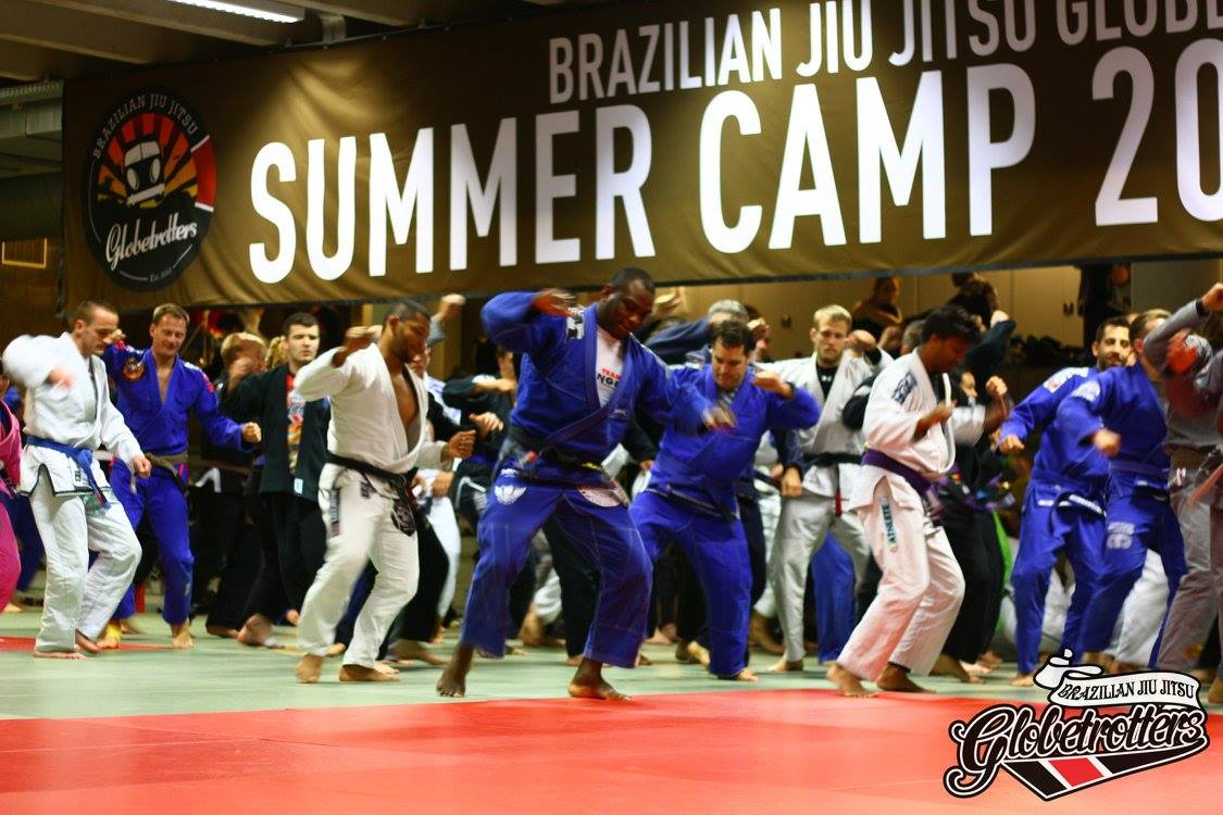 Bruno Matias Teaches Victory Dance at BJJ Globetrotters Summer Camp