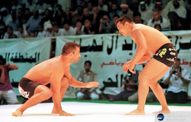 Enson Inoue vs Mario Sperry grappling superfight ADCC 1999