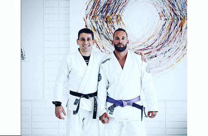 Danny Borg Earns Purple Belt After Being Paralysed