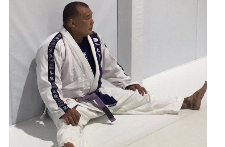 Enson Inoue Demotes Himself To Purple Belt