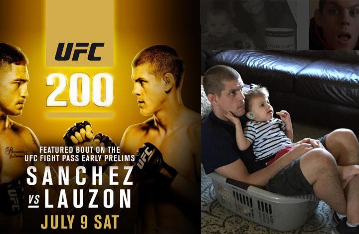 Joe Lauzon's Motivation Ahead of UFC 200