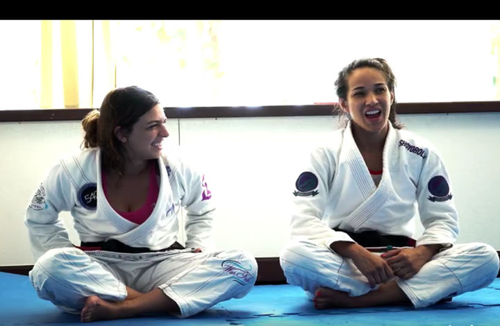 BJJ Girls Camp Featuring Matuda And Dern Was Awesome!
