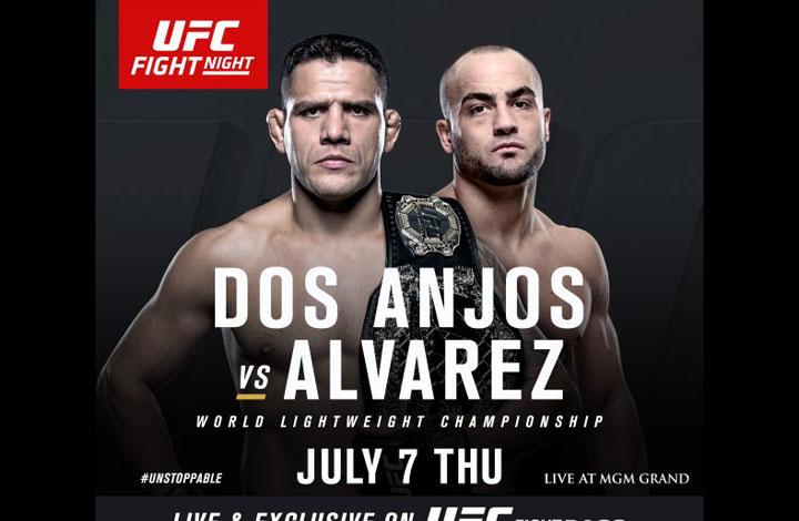 Rafael dos Anjos vs Eddie Alvarez UFC Fight Night
