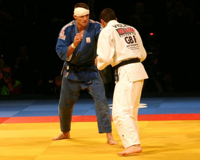 Judoka_Mark_Huizinga_tijdens_EK_judo_2005_Ahoy_Rotterdam