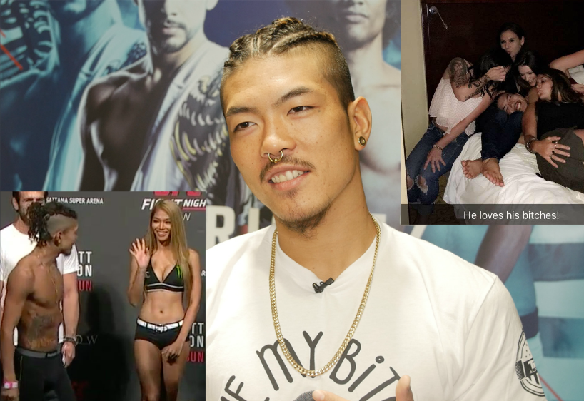 UFC's Teruto Ishihara Gives Advice On How To Get The Ladies