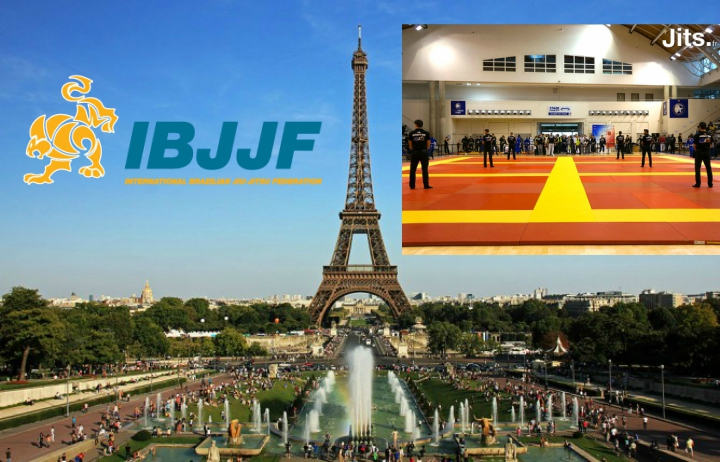 IBJJF Releases Dates For Paris International Open & Paris NO Gi 2016