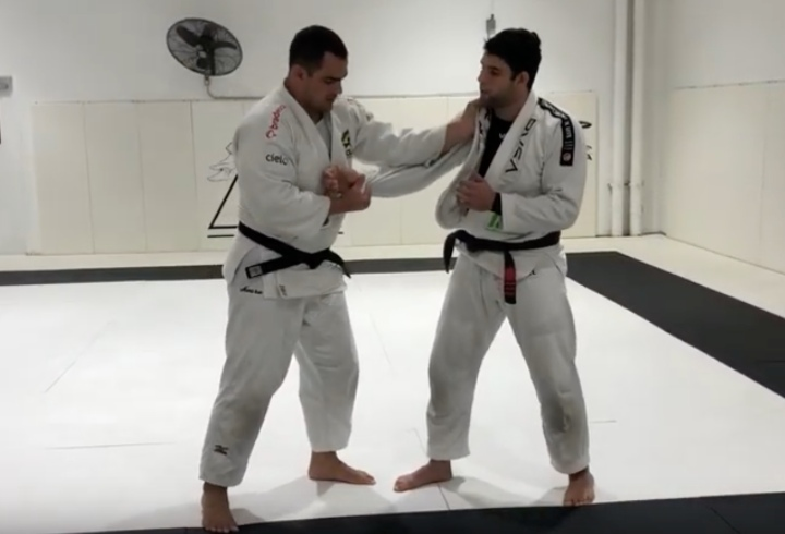 World Judo Silver Medalist Teaches Buchecha a Great Modified Drop Seoi Nage