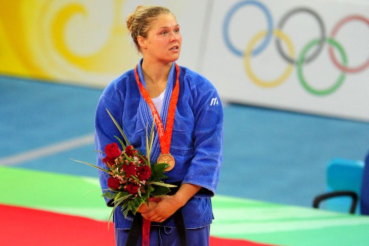 Ronda Rousey Olympic Judo Highlights
