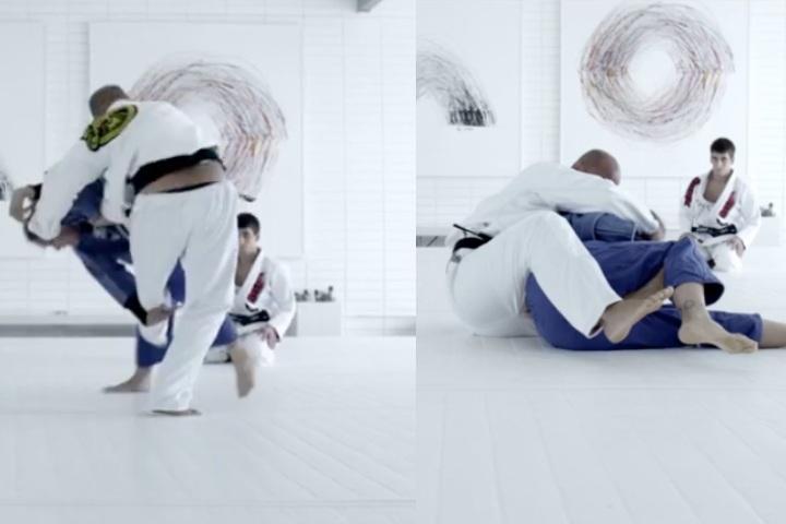 More Footage Emerges of Ronda Rousey & BJ Penn Rolling & Doing Judo Randori