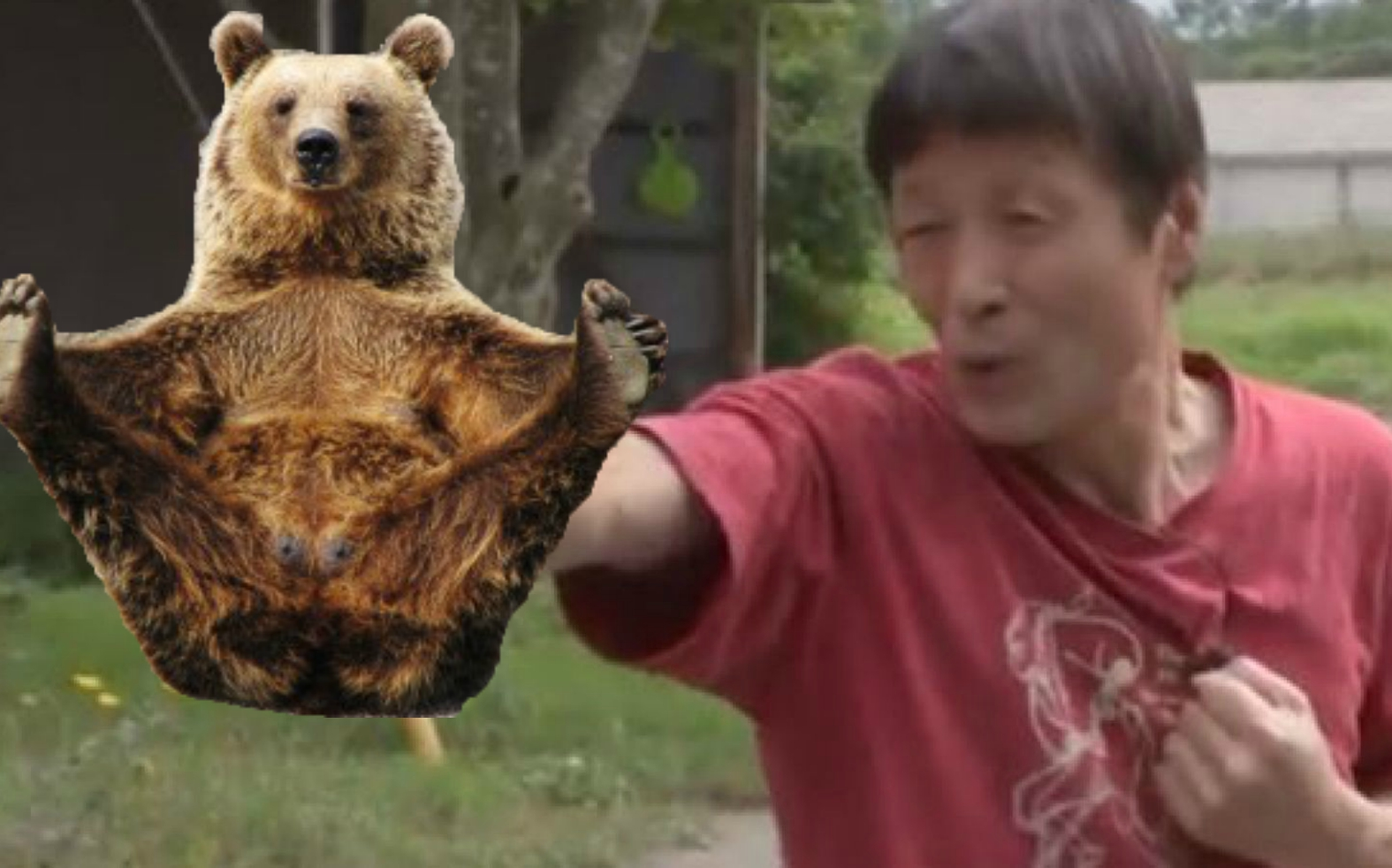 Japan: 63 yr Old Fights Off Attacking Bear Using Karate