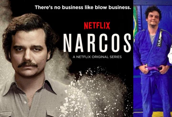 'Narcos' TV Series Star Wagner Moura is a BJJ Purple Belt