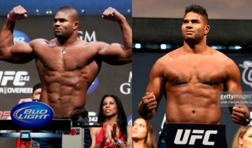 ufc steroids before and after